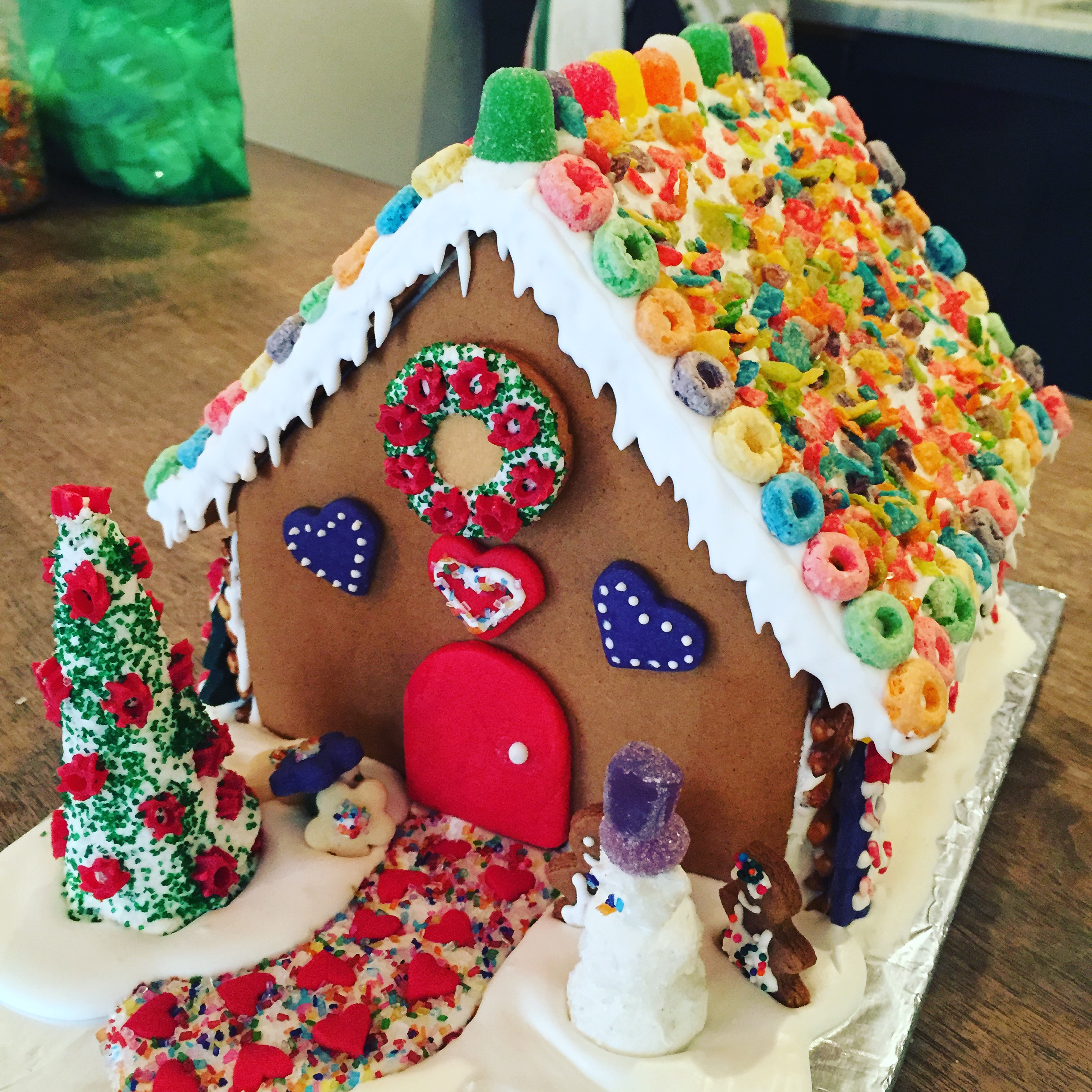 Diy Holidays Gingerbread House Workshop Adults Only