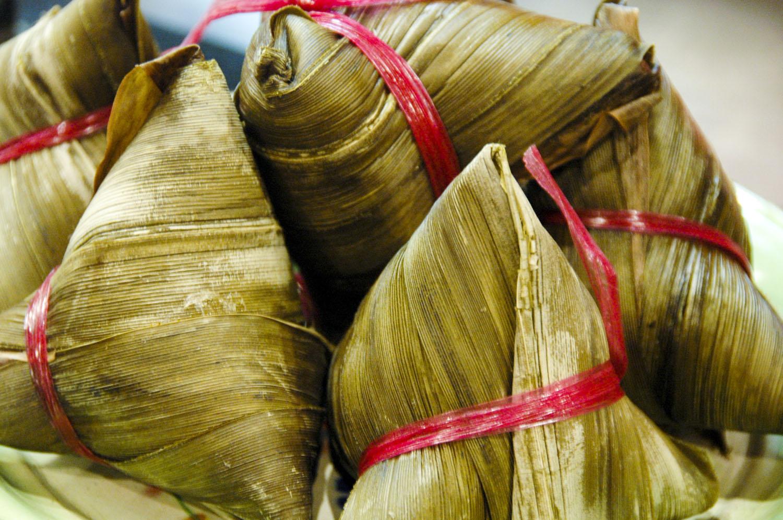 Zongzi Dumplings To Celebrate Dragon Boat Festival