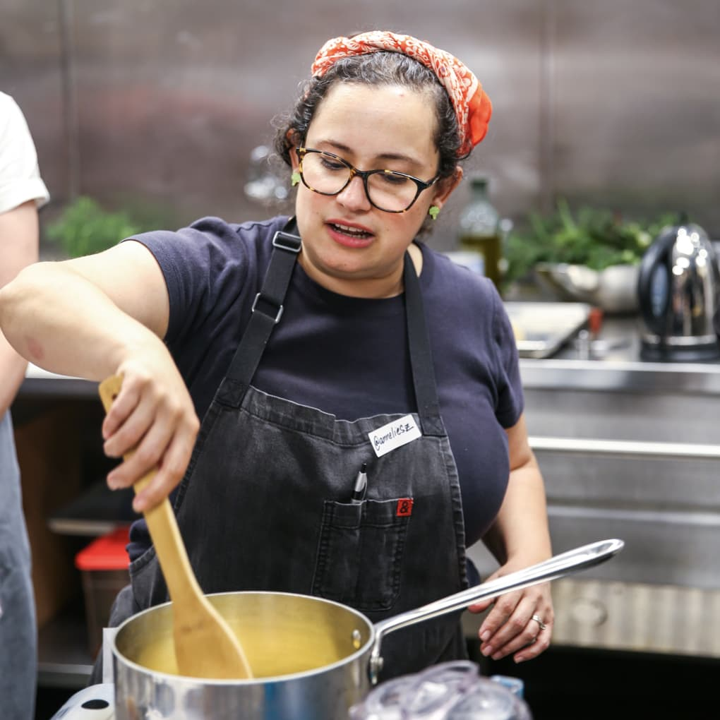 Cooking in the 18th Street Kitchen